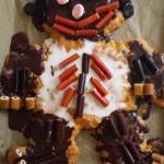 Fødselsdag med kagemand.